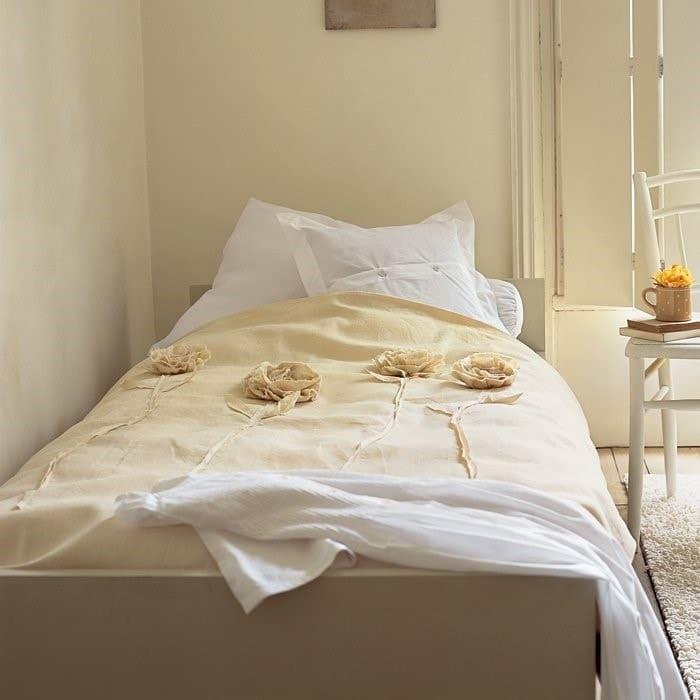 Chambre lin et blanc