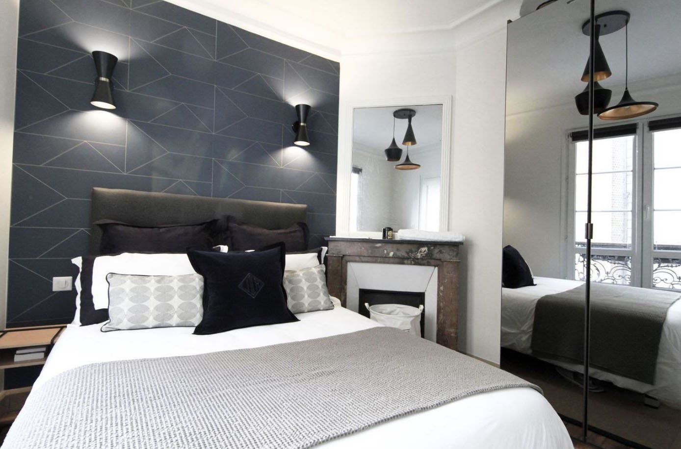 Chambre moderne chic