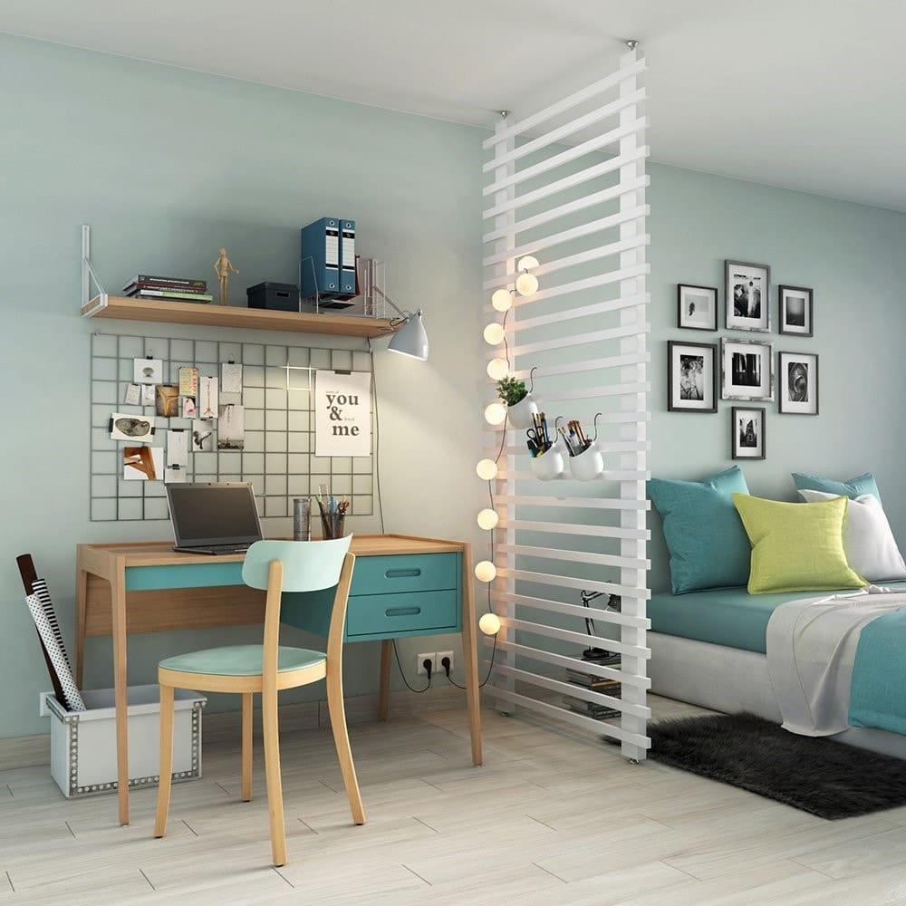 Cloison amovible chambre