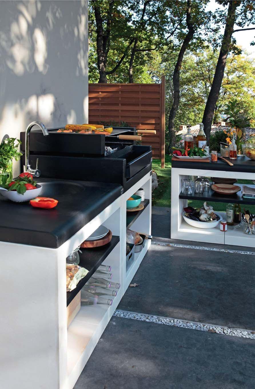 Evier Pour Cuisine D Été cuisine d'été : notre sélection des plus belles cuisines d
