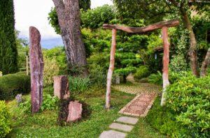 Jardin zen accueil