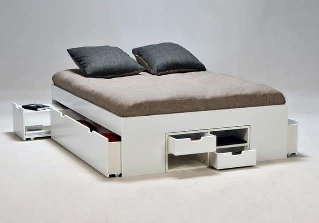 Lit avec rangement notre s lection pour gagner de la place - Ikea lit avec tiroir de rangement ...