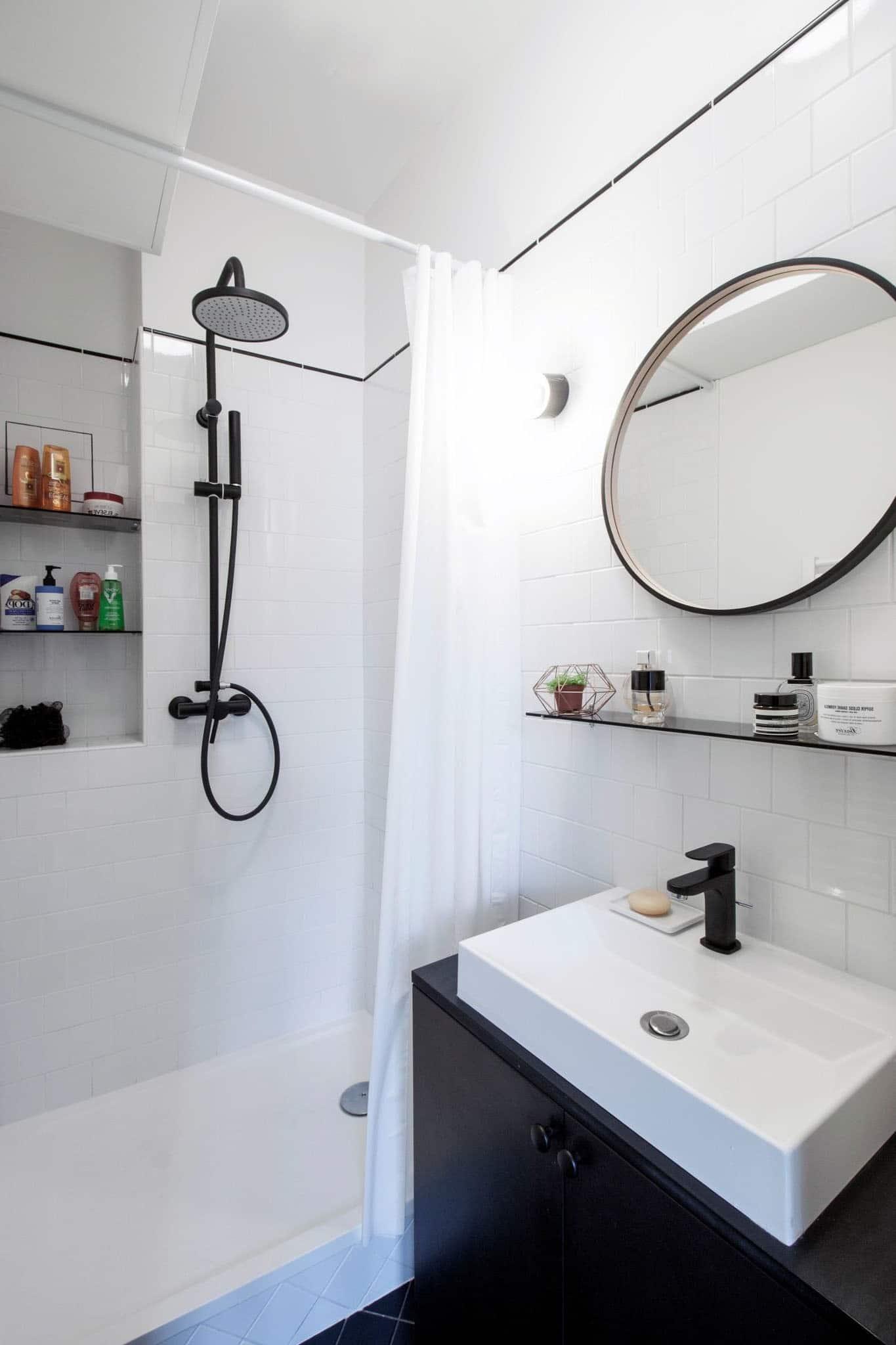 Salle De Bain En Longueur salle de bain blanche : 22 idées et photos pour trouver l