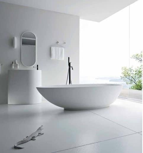 Salle de bain total look