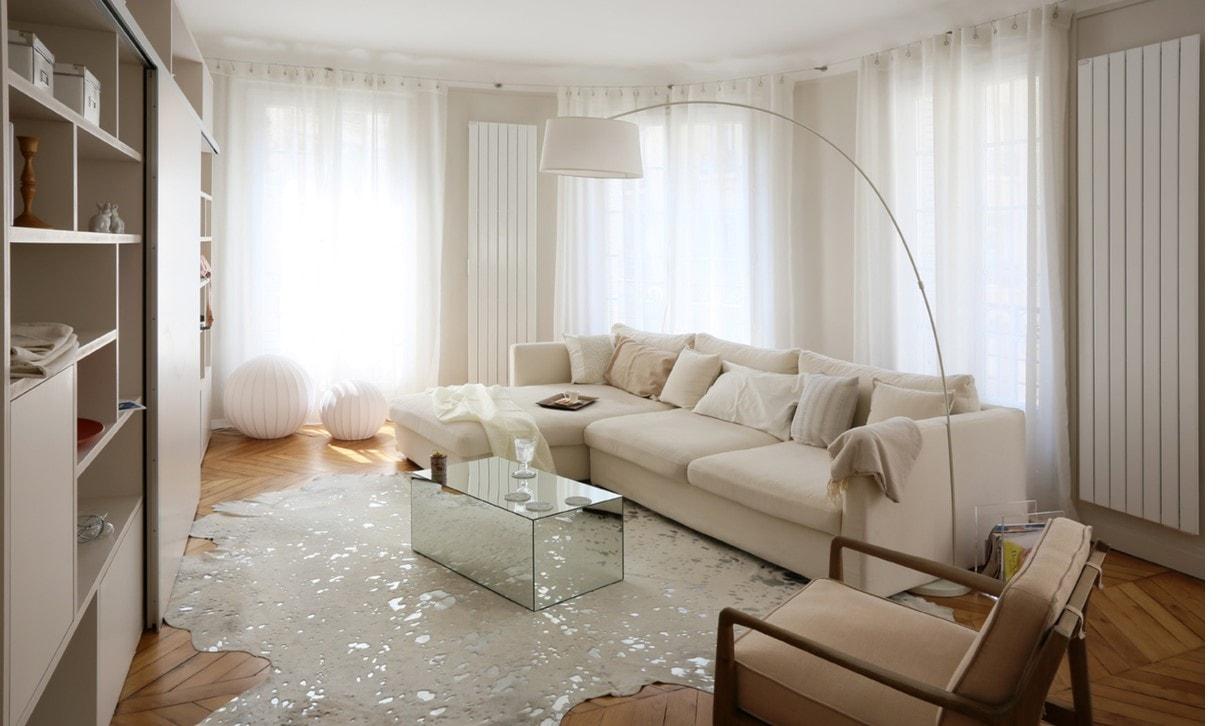 Salon modern et cosy