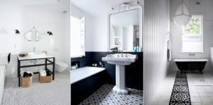 3 exemples de salle de bain blanche