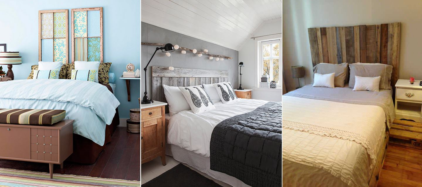 Porte En Tete De Lit diy : faire une tête de lit soi-même : 31 idées et
