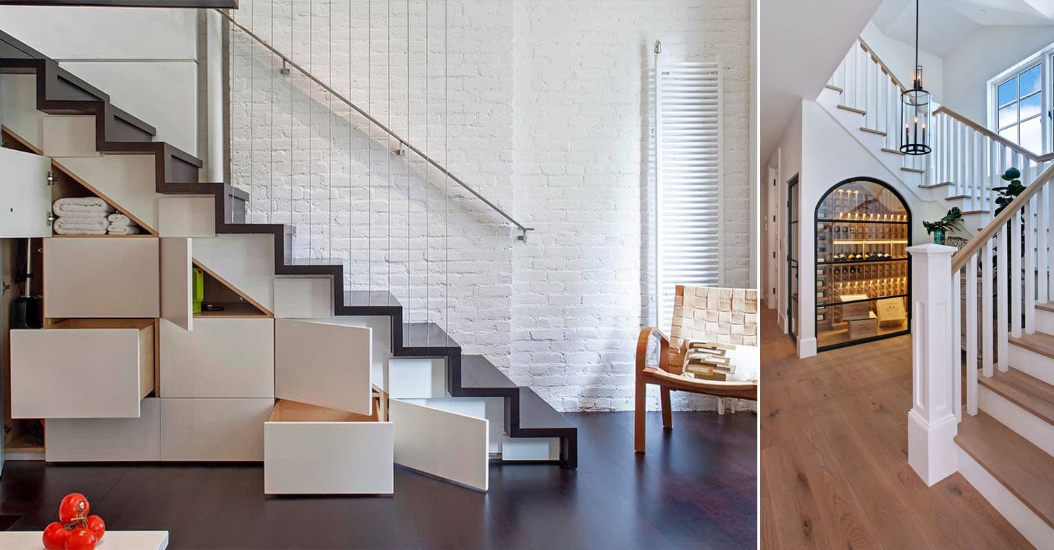 Ajouter Une Étagère Dans Un Placard aménagement sous escalier : 33 idées, photos et astuces