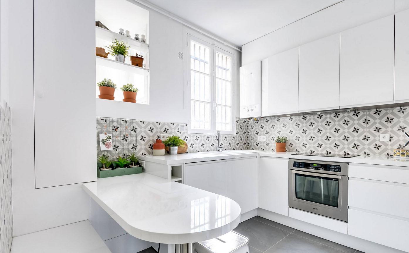 Cuisine blanche : 38 idées pour une cuisine lumineuse !