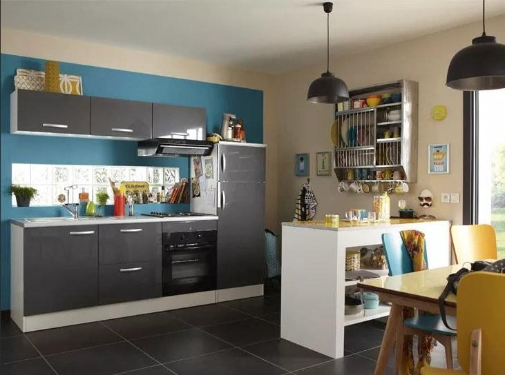 Cuisine grise : 40 idées et photos pour votre cusine ...