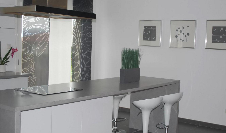 Cuisine grise : 40 idées et photos pour votre cusine !   Ctendance.fr