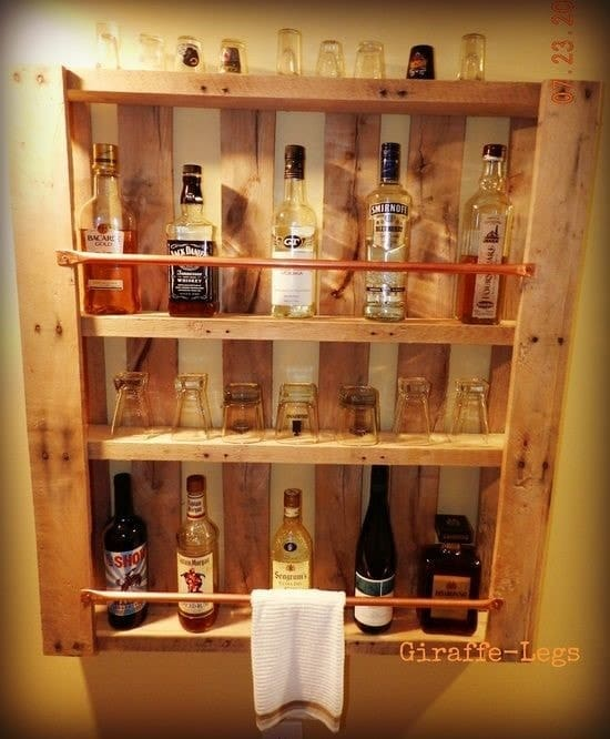 Mini-bar suspendu