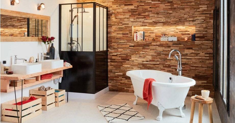 24 mod les de salle de bain photos et inspirations - Leroy merlin rangement salle de bain ...