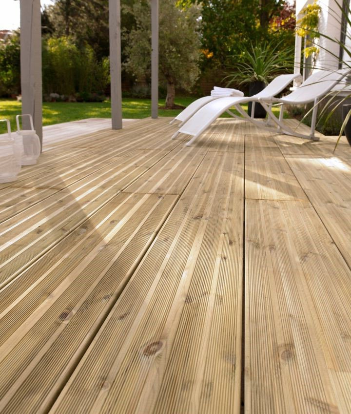 Terrasse bois européen