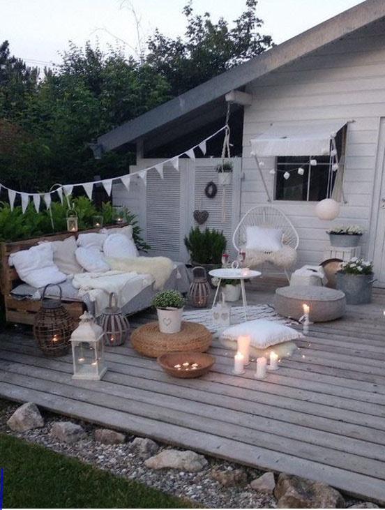 Terrasse charme