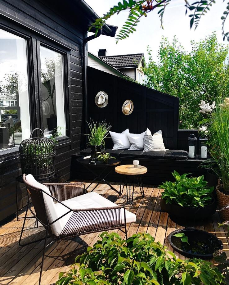 Terrasse décor