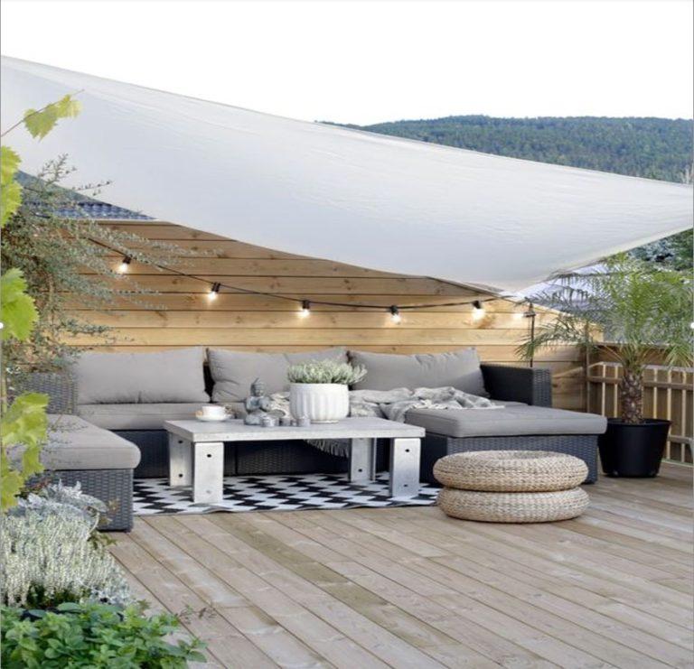 Terrasse naturelle bois