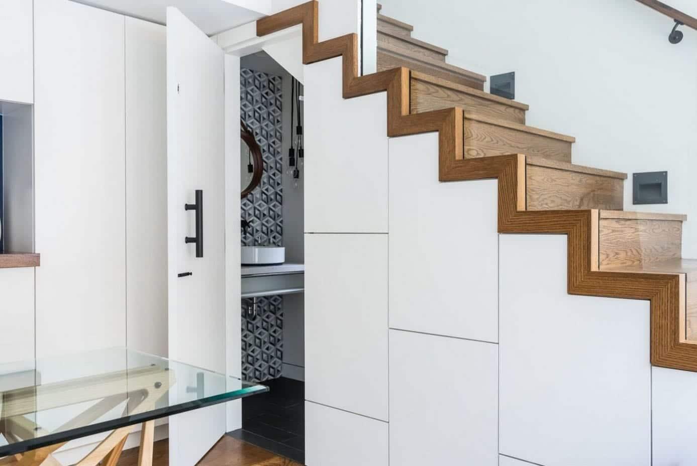 Dressing Ikea Angle Sans Porte aménagement sous escalier : 33 idées, photos et astuces