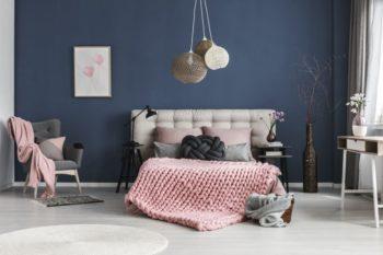 Chambre Bleue Et Rose