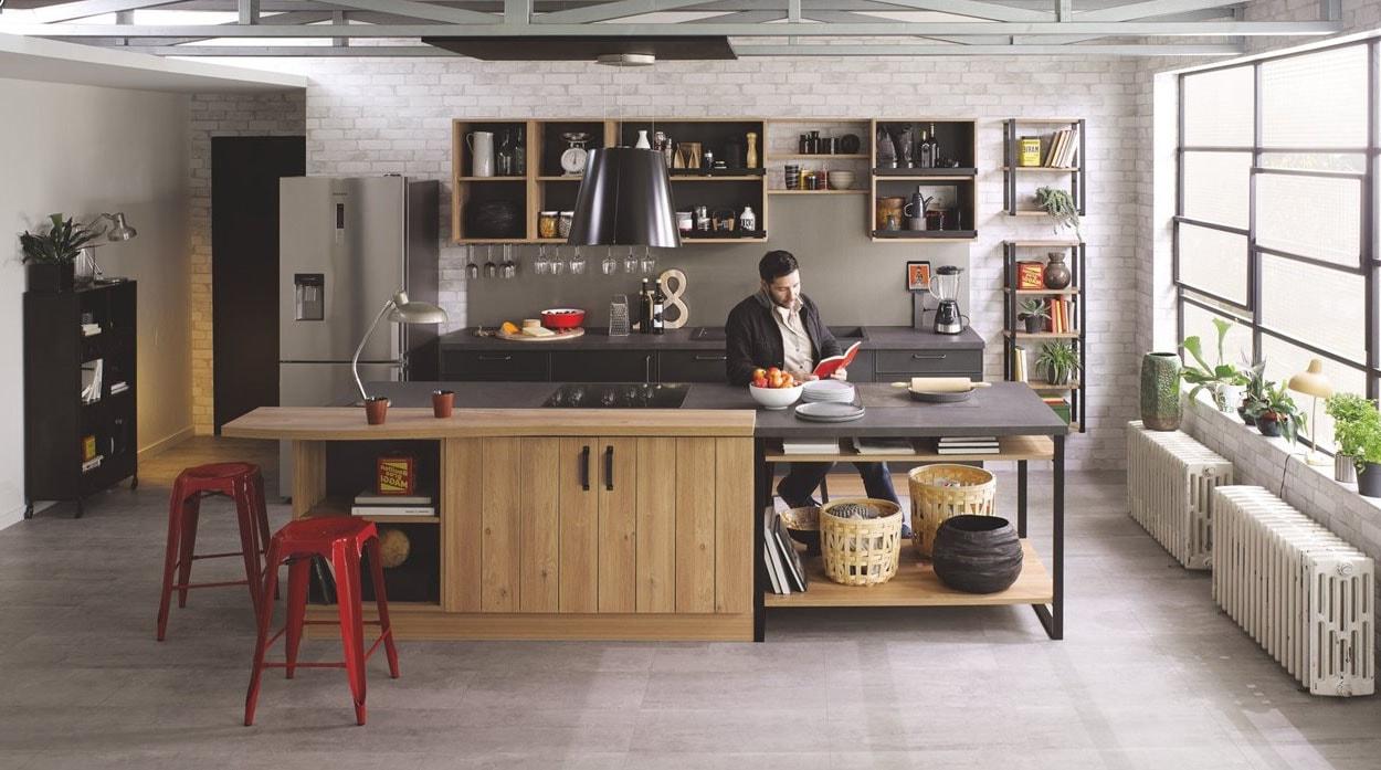Cuisine Ilot Central Cuisinella cuisine cuisinella : notre sélection des 30 meilleurs modèles