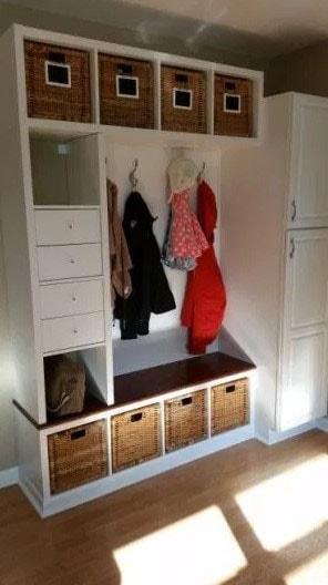 Dressing Kallax Ikea
