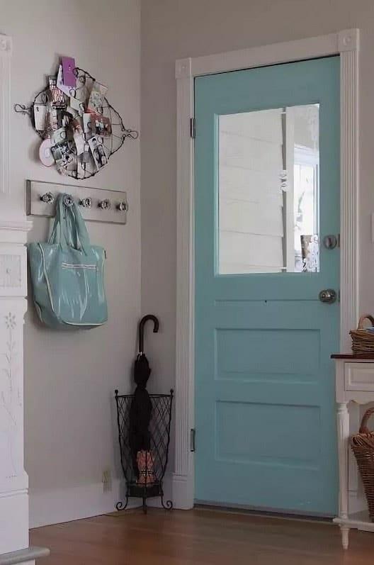 Entrée De Charme Turquoise