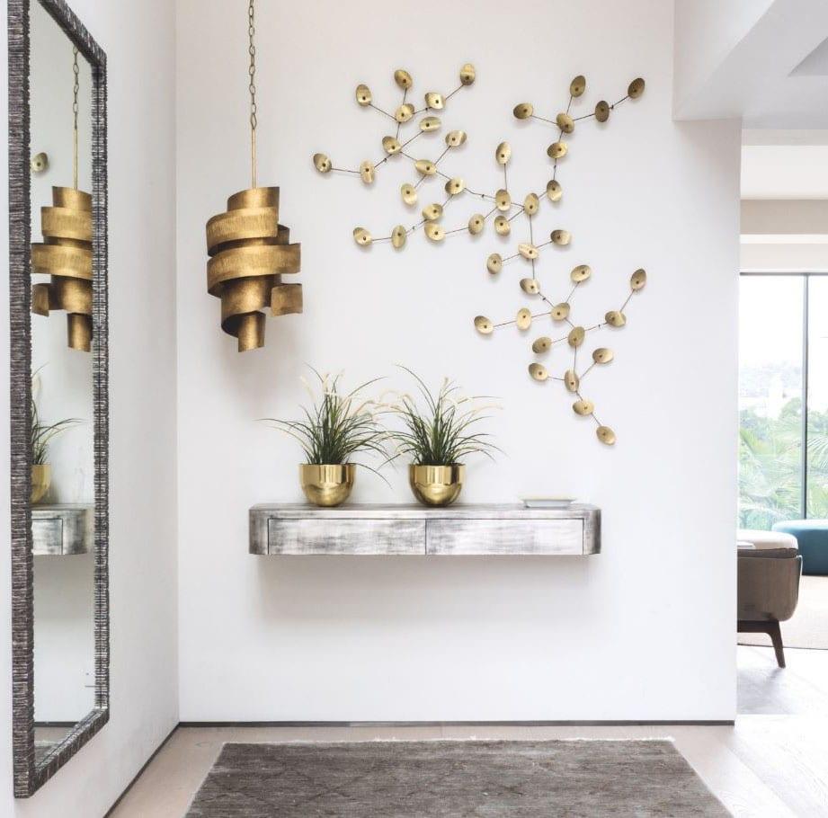 Hall D Entrée Moderne meuble d'entrée : notre sélection des plus tendances en photos !