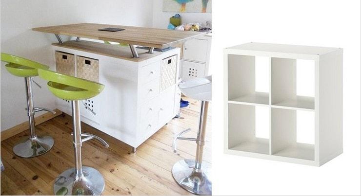 Ikea Kallax Hack 22 Manières Originales D Utiliser Cette