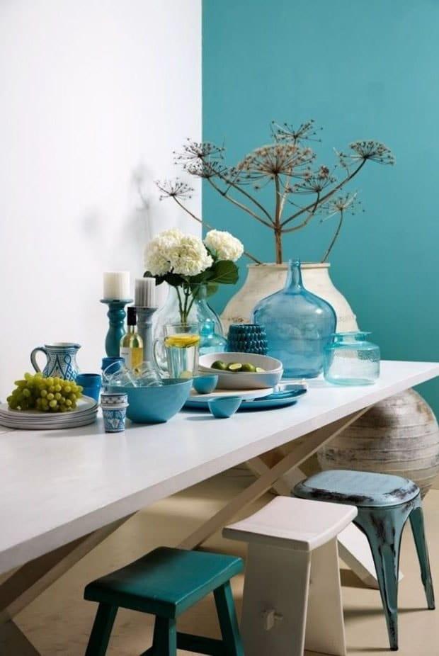Mur Turquoise
