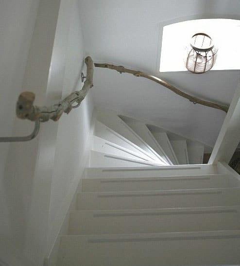 Rampe D'escalier Bois Flotté