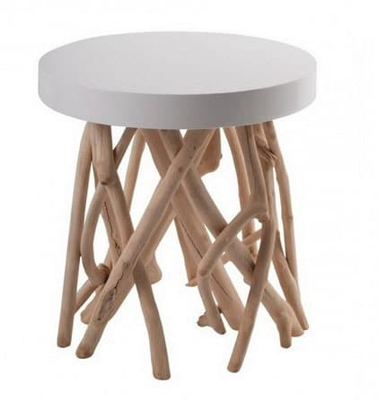 Table D'appoint Bois Flotté