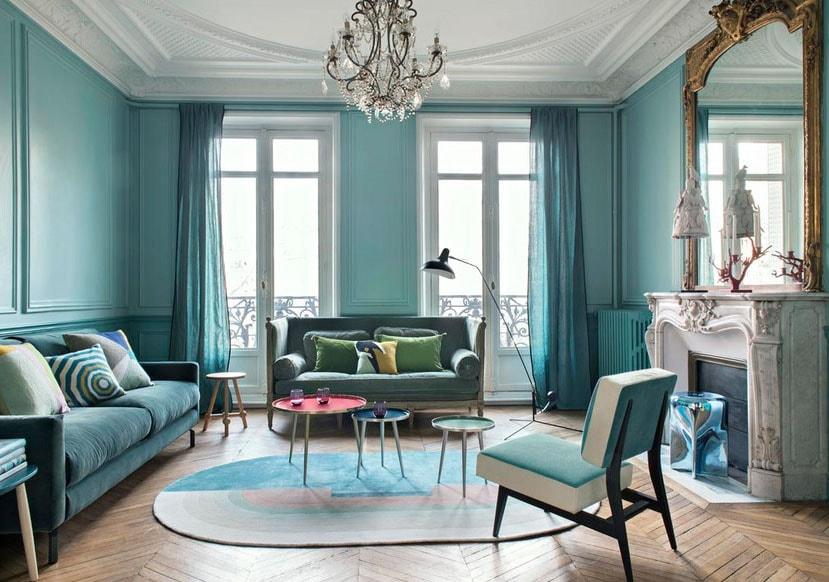 Turquoise Et Classicisme