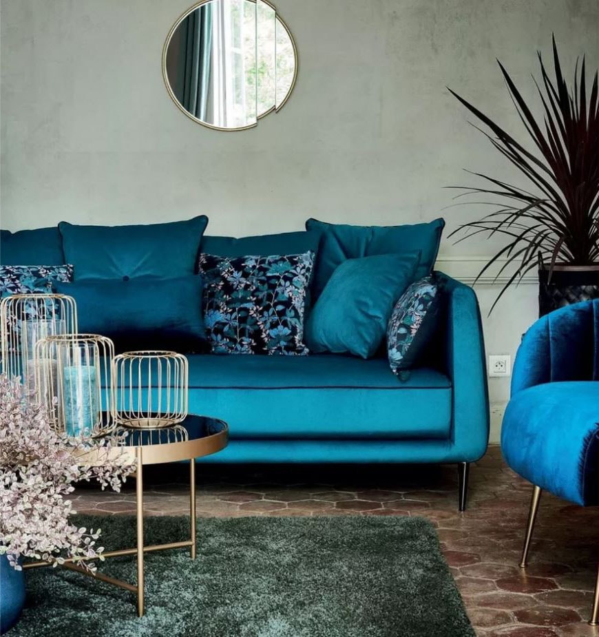 Turquoise Et Laiton