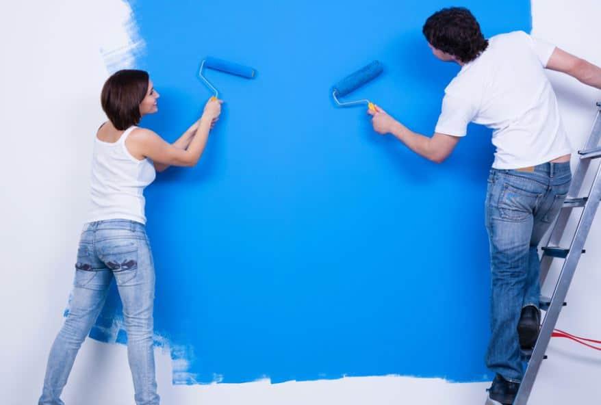Peindre Un Mur Sans Laisser De Trace Min