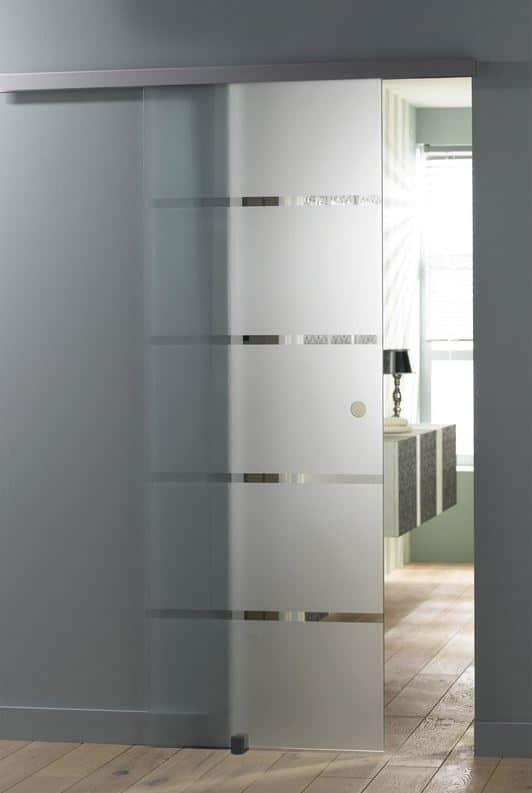 Porte Coulissante Vitree