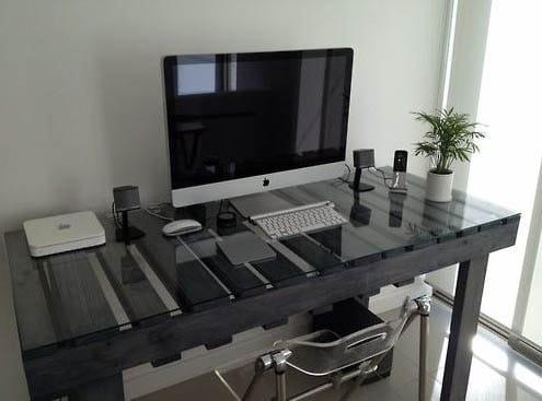 Bureau Moderne En Palettes