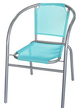 Chaise Bleu Glacier