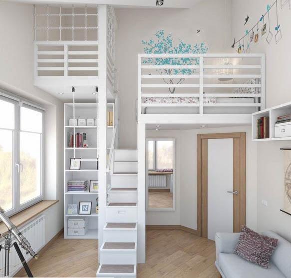 Mezzanine Trois Niveaux