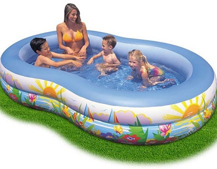 Piscine Gonflable Ovale