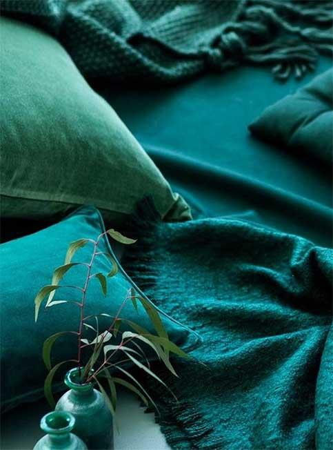 Textile Bleu Pétrole