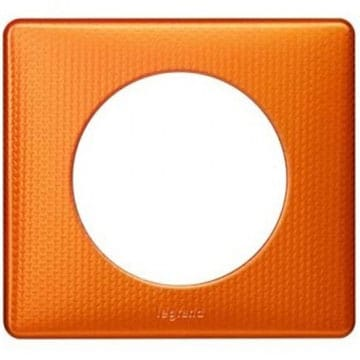 Plaque Orange