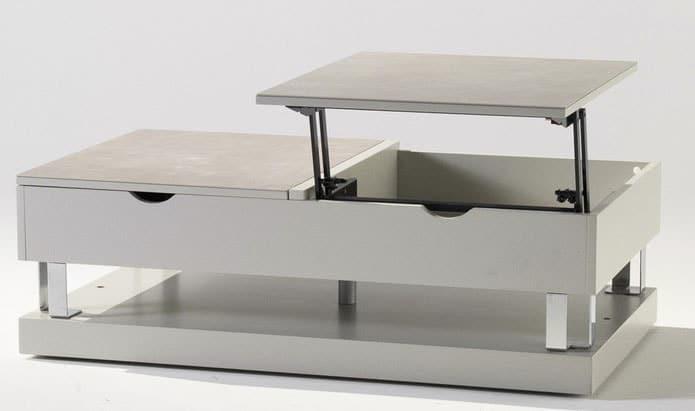 Table Basse Qui Se Leve.Table Basse Relevable 21 Modeles Pour Votre Interieur