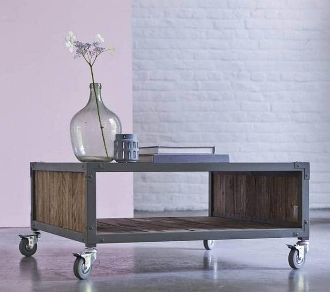Table Basse Industrielle 20 Magnifiques Modèles Rétro Et