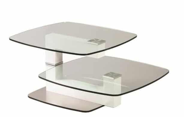 Table Relevable Verre