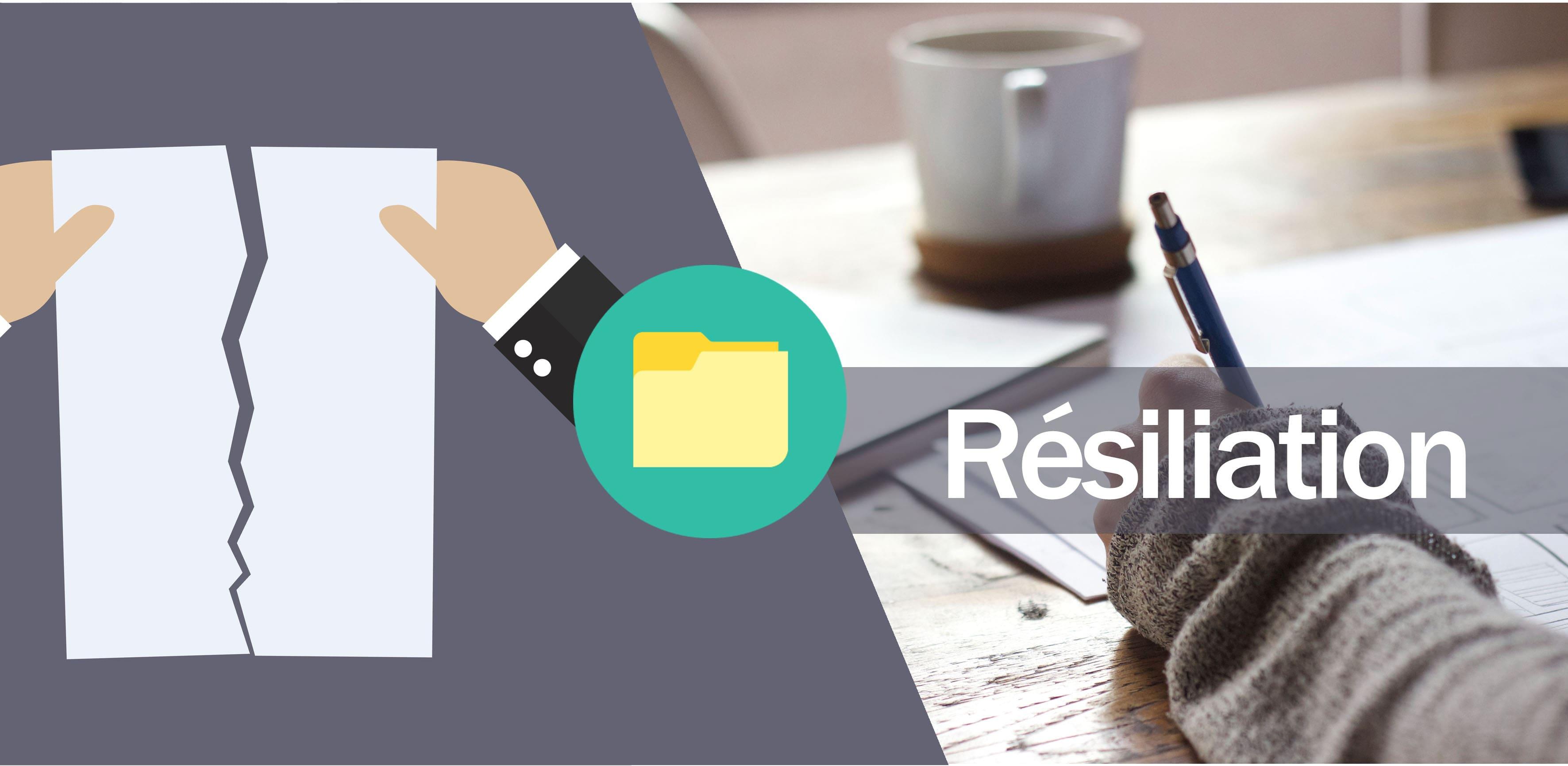 Template Resiliation Contrat Min