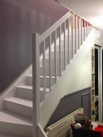 Peindre Escalier Bois En Gris Einfach Un Cosmeticuprise