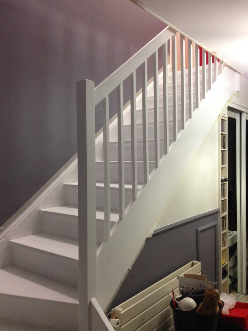 Peindre Fenetre Pvc En Gris peindre un escalier comme un pro : matériels, préparation et