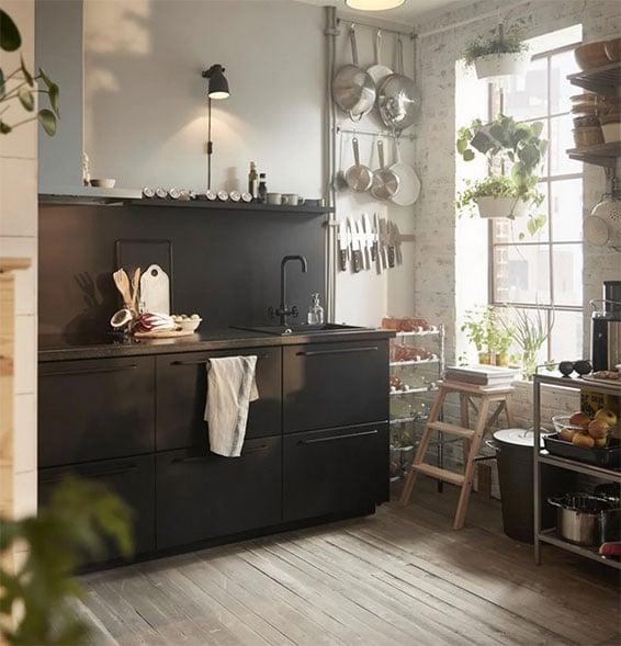 Ikea Kitchenette: Kitchenette Ikea : 18 Modèles Pour Une Mini Cuisine Au Top