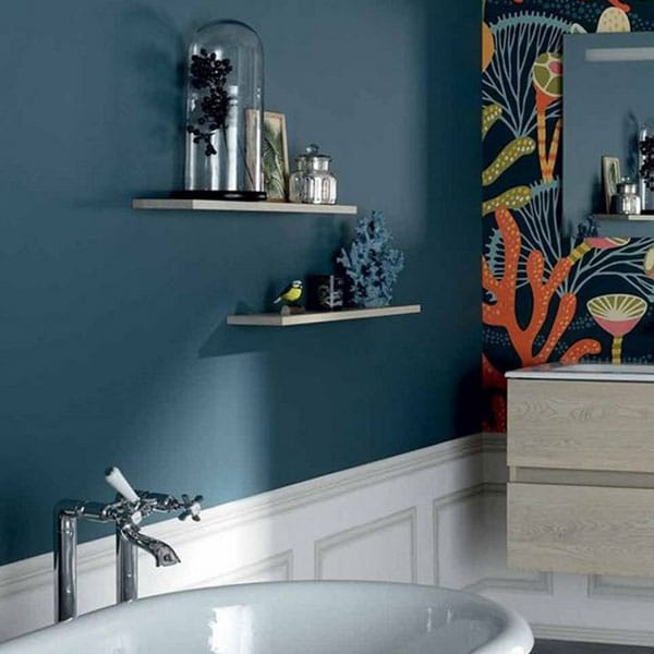 Bleu canard en déco : les meilleures associations de couleurs