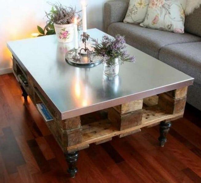 Table Palette Et Inox